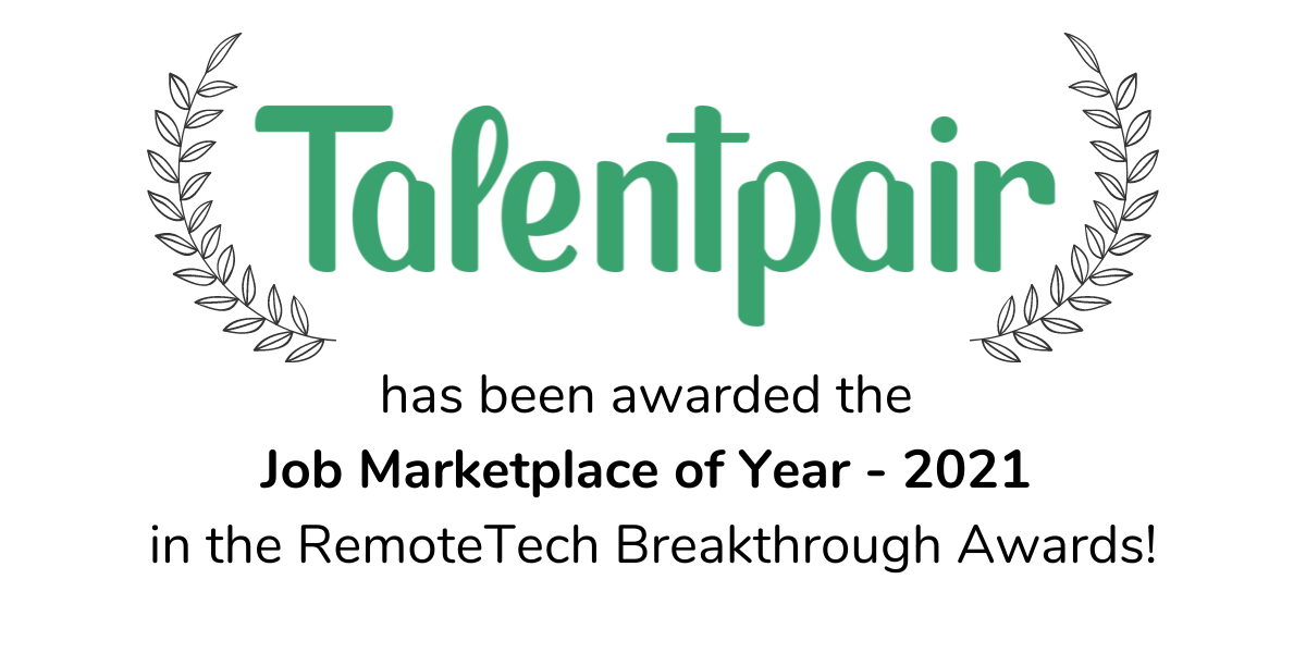 Talentpair-remotetech-award